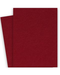 BASIS COLORS - 26 x 40 CARDSTOCK PAPER - Dark Red - 80LB COVER - 100 PK