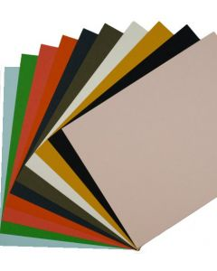 Colorful Eco Matte Extract 8.5 x 11 Cardstock Variety Pack (10 colors / 3 each) - 30 PK