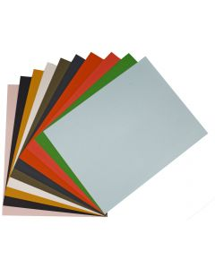 Colorful Eco Matte Extract 8.5 x 11 Text Variety Pack (10 colors / 5 each) - 50 PK