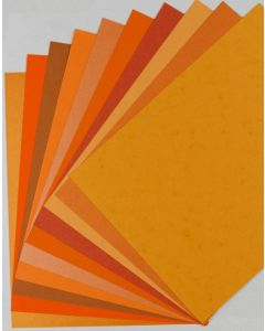 Fav Orange cardstock Paper