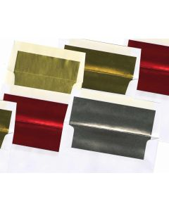 Foil Lined Holiday Card Envelopes (24/60lb Text)