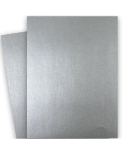 Shine PEWTER - Shimmer Metallic Card Stock Paper - 28x40 - 107lb Cover (290gsm) - 200 PK
