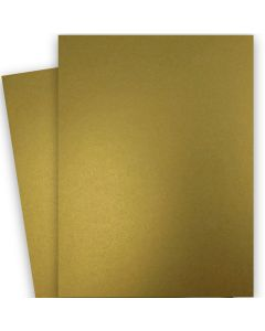 FAV Shimmer Pure Gold - 28X40 (72X102cm) Card Stock Paper  - 92lb Cover (250gsm) - 125 PK