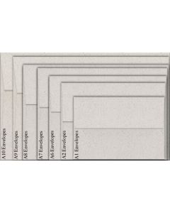 Neenah Environment MOONROCK (80T/Smooth) - A1 Envelopes (3.625 x 5.125) - 2500 PK