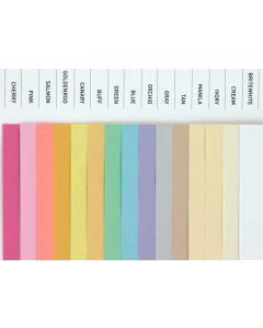 Domtar Colors - Multipurpose - 8.5 x 14 Paper - 20/50 Text - 500 PK