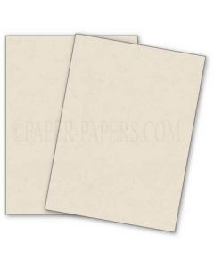 DUROTONE Newsprint WHITE - 8.5X11 Card Stock Paper - 80lb Cover - 50 PK