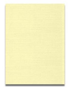 Neenah CLASSIC LINEN 8.5 x 11 Card Stock - Baronial Ivory - 80lb Cover - 250 PK