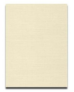 Neenah CLASSIC LINEN 8.5 x 11 Card Stock - Monterey Sand - 80lb Cover - 250 PK
