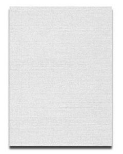 Neenah CLASSIC LINEN 8.5 x 11 Card Stock - Whitestone - 80lb Cover - 250 PK
