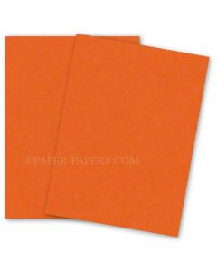 Astrobrights 8.5X11 Card Stock Paper - ORBIT ORANGE - 65lb Cover - 250 PK