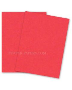 Astrobrights 8.5X11 Card Stock Paper - ROCKET RED - 65lb Cover - 2000 PK