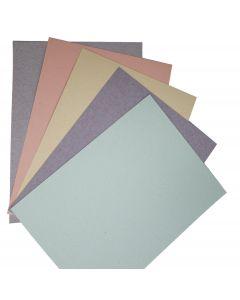 Kraft-Tone Fiber 8.5X11 Text Variety Pack (5 colors / 10 each) - 50 PK