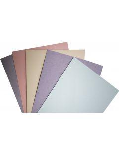 Kraft-Tone Fiber 8.5X11 Cardstock Variety Pack (5 colors / 10 each) - 50 PK