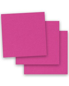 [Clearance] BASIS COLORS - 12 x 12 CARDSTOCK PAPER - Magenta - 80LB COVER - 50 PK