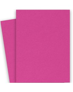 [Clearance] BASIS COLORS - 26 x 40 CARDSTOCK PAPER - Magenta - 80LB COVER