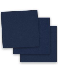 BASIS COLORS - 12 x 12 CARDSTOCK PAPER - Navy - 80LB COVER - 50 PK