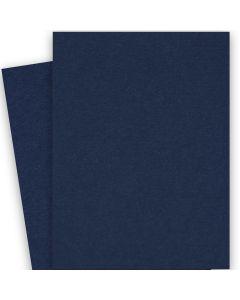 BASIS COLORS - 26 x 40 CARDSTOCK PAPER - Navy - 80LB COVER - 100 PK