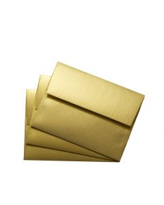 FAV Shimmer PURE GOLD - A2 Envelopes (4.375-x-5.75) - 50 PK