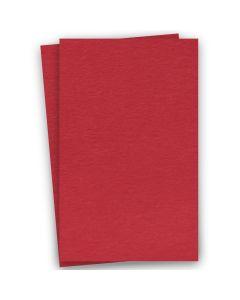 BASIS COLORS - 11 x 17 CARDSTOCK PAPER - Red - 80LB COVER - 100 PK