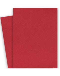 BASIS COLORS - 26 x 40 CARDSTOCK PAPER - Red - 80LB COVER - 100 PK