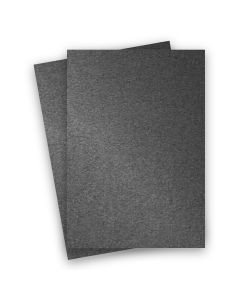 Stardream Metallic - 8.5X14 Legal Size Card Stock Paper - Anthracite - 105lb Cover (284gsm) - 150 PK