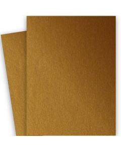 Stardream Metallic - 28X40 Full Size Paper - ANTIQUE GOLD - 105lb Cover (284gsm) - 100 PK