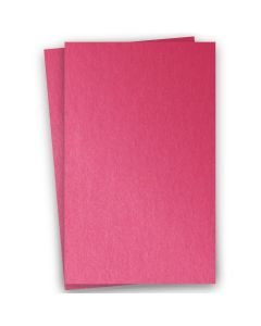 Stardream Metallic 11X17 Card Stock Paper - AZALEA - 105lb Cover (284gsm) - 100 PK