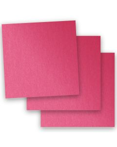 Stardream Metallic - 12X12 Card Stock Paper - AZALEA - 105lb Cover (284gsm) - 35 PK
