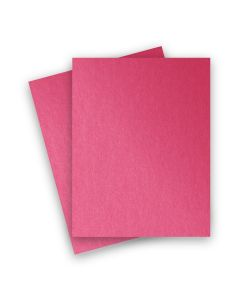 Stardream Metallic - 8.5X11 Card Stock Paper - AZALEA - 105lb Cover (284gsm) - 1000 PK