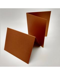 Stardream Copper - A2 Folded Cards - 105lb Cover (284gsm) Shimmer Metallic - 25 PK