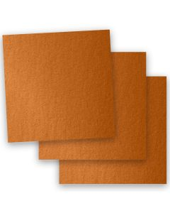 Stardream Metallic - 12X12 Card Stock Paper - COPPER - 105lb Cover (284gsm) - 35 PK