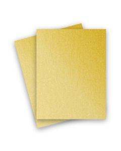 Stardream Metallic - 8.5X11 Card Stock Paper - GOLD - 105lb Cover (284gsm) - 25 PK