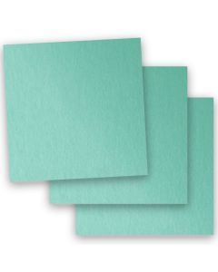 Stardream Metallic - 12X12 Card Stock Paper - LAGOON - 105lb Cover (284gsm) - 35 PK