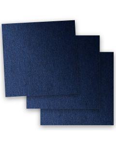 Stardream Metallic - 12X12 Card Stock Paper - LAPIS LAZULI - 105lb Cover (284gsm) - 35 PK