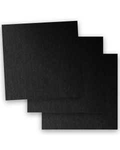 Stardream Metallic - 12X12 Card Stock Paper - ONYX - 105lb Cover (284gsm) - 100 PK