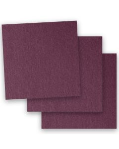 Stardream Metallic - 12X12 Card Stock Paper - RUBY - 105lb Cover (284gsm) - 35 PK