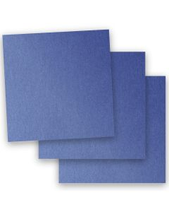 Stardream Metallic - 12X12 Card Stock Paper - SAPPHIRE - 105lb Cover (284gsm) - 35 PK