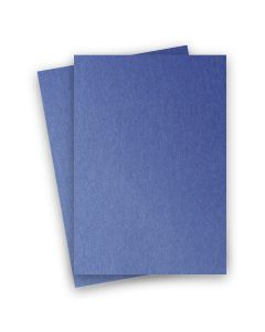 Stardream Metallic - 8.5X14 Legal Size Card Stock Paper - Sapphire - 105lb Cover (284gsm) - 150 PK