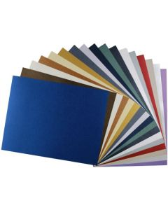 Shine Variety - Shimmer Metallic 8.5 x 11 TEXT Weight Paper - (17 colors / 4 each) - 68 PK