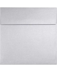[Clearance] Stardream Metallic Silver - 7.5 in Square ENVELOPES - 25 PK