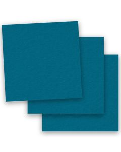 BASIS COLORS - 12 x 12 CARDSTOCK PAPER - Teal - 80LB COVER - 50 PK