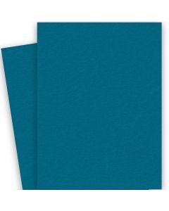 BASIS COLORS - 26 x 40 CARDSTOCK PAPER - Teal - 80LB COVER - 100 PK