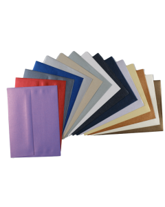 Envelope Variety Pack - Shine Shimmer Metallic - A2 and A7  (15 Colors / 2 Each)