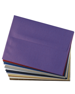 A7 Envelope Variety Pack - Shine Shimmer Metallic - 15 Colors / 3 Each 45 PK