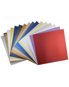 Shine 12-x-12 Text Variety Pack (16 colors / 5 each) - 80 PK