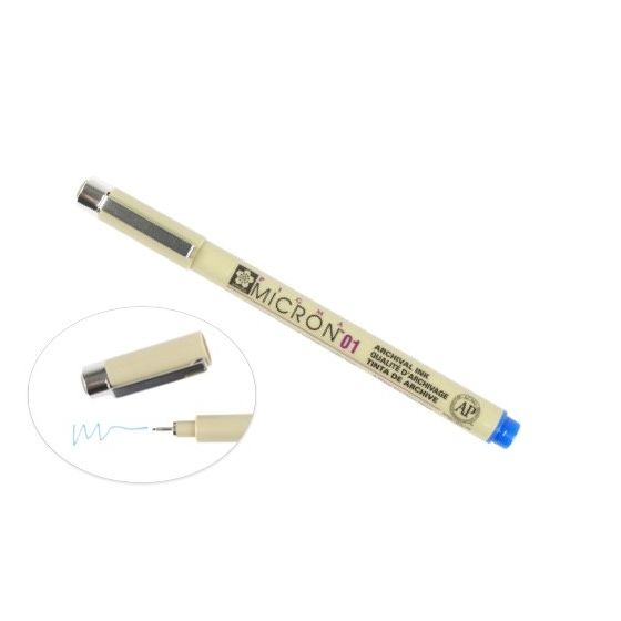 [Clearance] Micron 01 PEN 0.25MM - BLUE