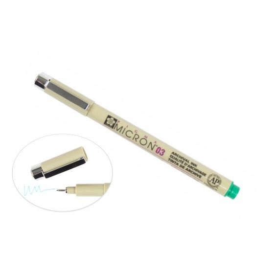 [Clearance] Micron 03 PEN 0.35MM - GREEN