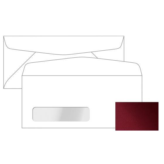 Stardream - MARS No. 10 Commercial Canadian Window Envelopes (4.125-x-9.5-inches) - 2500 PK