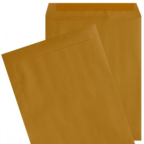 9X12 Catalog Envelopes - 24lb Brown Kraft - (9 x 12) - 500 Pk