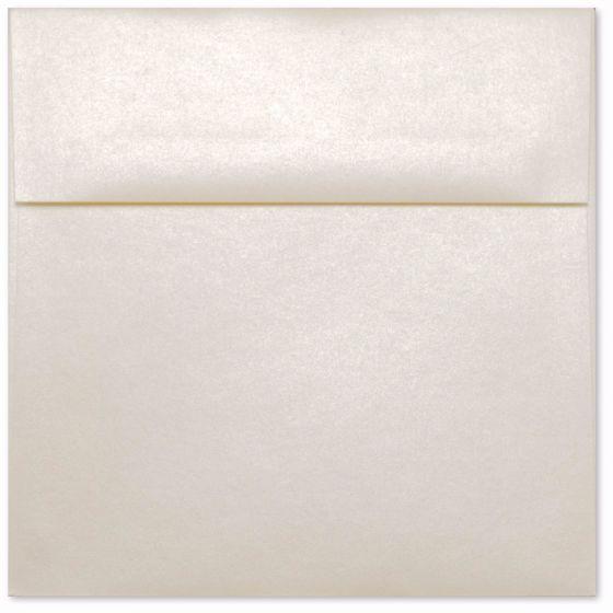 Square Champagne Ivory Envelopes